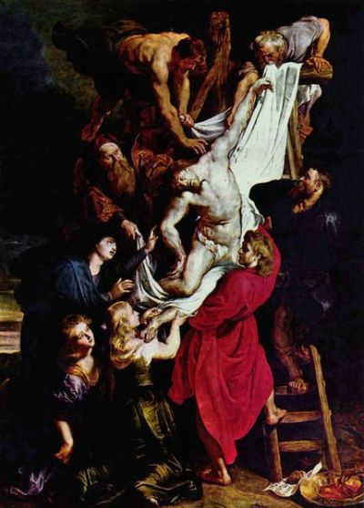 Rubens - The Descent from the Cross (c.1611)