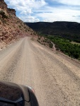 Gravel Road to Black Canyon