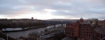 Looking out over the Tyne from Newcastle Keep