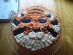 A Tiger Cake for my birthday!