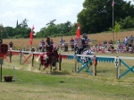 Jousting at Hever