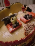 Christmas Cake #2 - Santa's Workshop Exterior