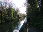 Walking Along the Canal Near Leamington Spa