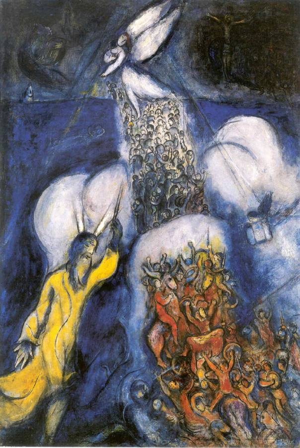 Crossing of the Red Sea - Chagall