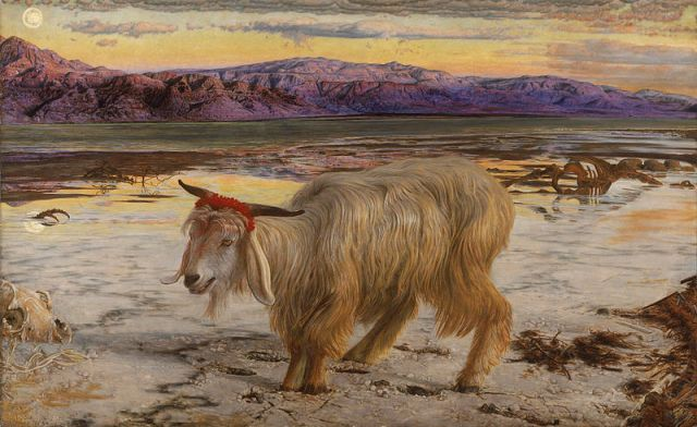 William Holman Hunt - The Scapegoat