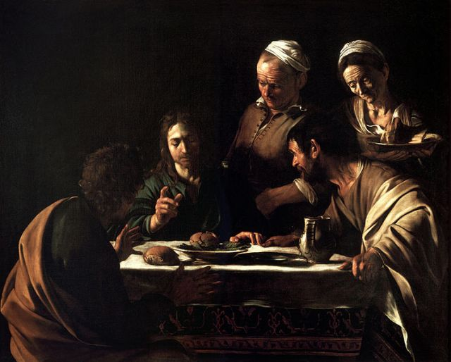 Supper at Emmaus - Caravaggio