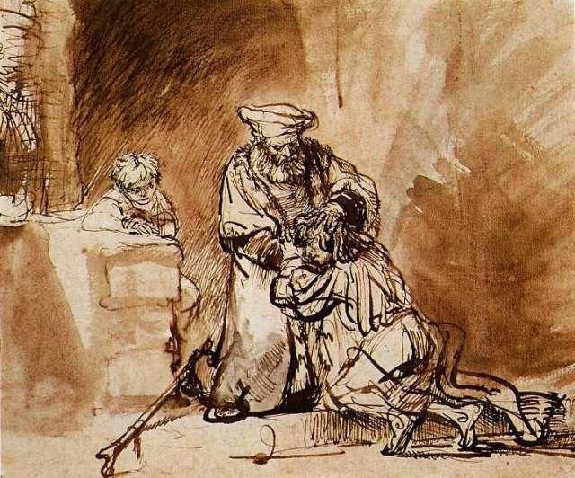 Rembrandt - Prodigal Son