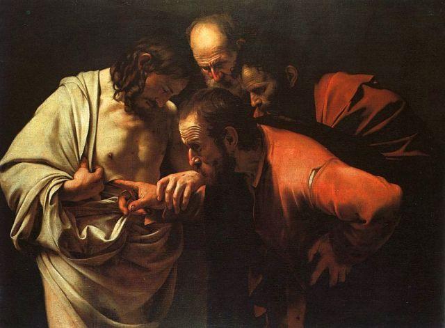 Caravaggio - The Incredulity of Saint Thomas