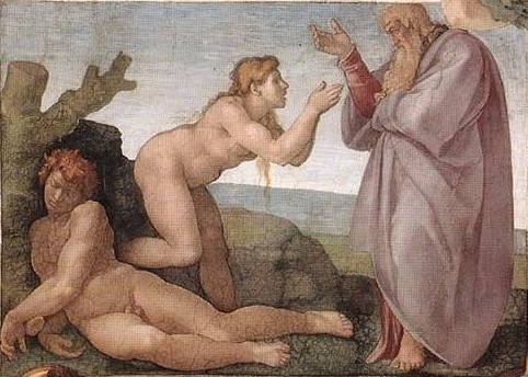 Michelangelo - Creation of Eve (detail)