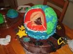 The earth cake