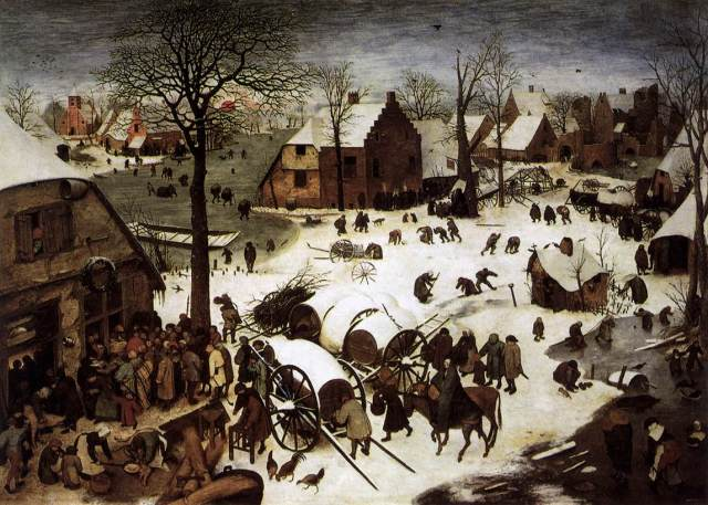 Pieter Bruegel the Elder - The Census at Bethlehem