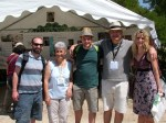 With a Christian Missions Team at Abbaye de Sénanque