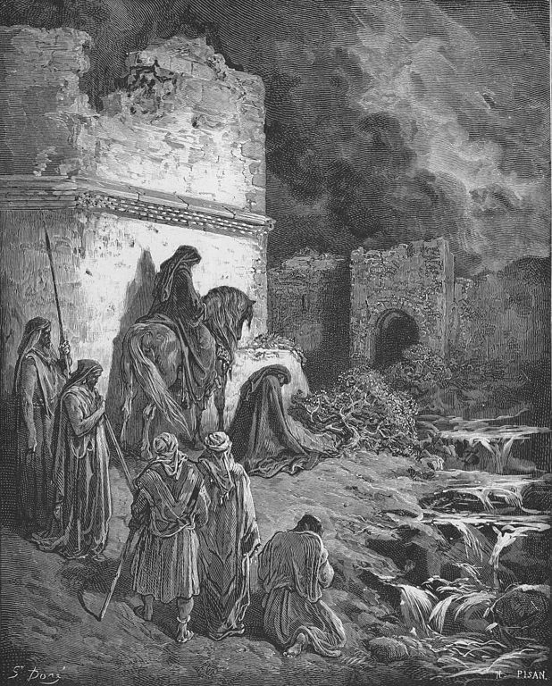 Nehemiah Views the Ruins of Jerusalem's Walls